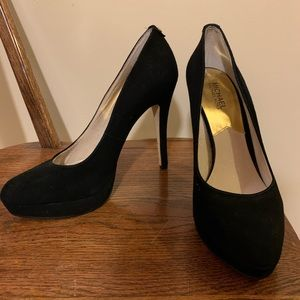 Excellent Condition Michael Kors Black High Heels